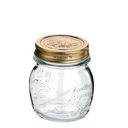 Bormioli Rocco Zavařovací sklenice s víčkem Quattro Stagioni, 250 ml