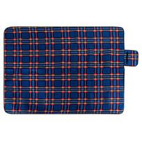 Koc piknikowy niebieski, 150 x 200 cm