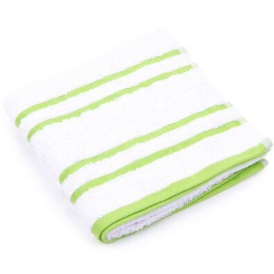 """Ręcznik """"Snow"""" zielony, 50 x 100cm"""