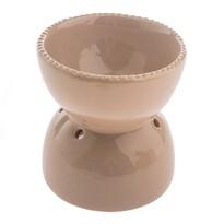 Ceramiczna lampa aromatyczna Formia brązowy, 10,8 x 11,5 x 9 cm x 10,8 cm