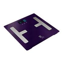 Berlinger Haus Osobná váha Smart s telesnou analýzou Purple Metallic Line, 150 kg