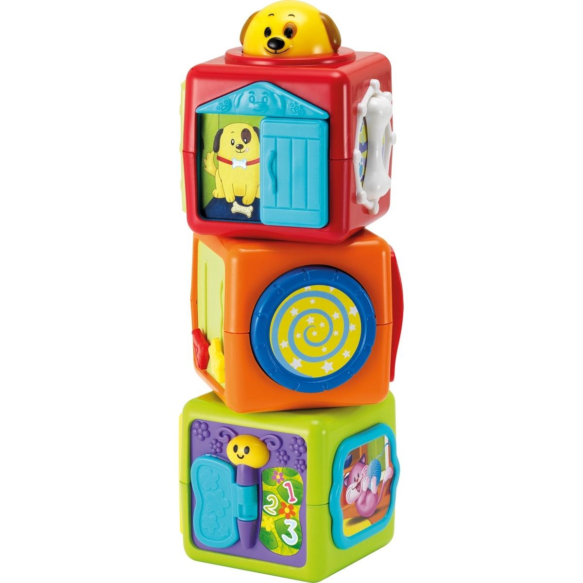 Buddy Toys 3010 Tři kostky zvířátka