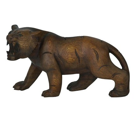 Dřevořezba tygr, 30 cm