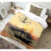 Kvalitex Bavlněné povlečení Voyage 3D, 140 x 200 cm, 70 x 90 cm