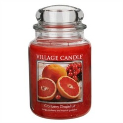 Village Candle Vonná svíčka Brusinka a grapefruit  - Cranberry Grapefruit, 645 g