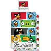 Detské bavlnené obliečky Angry Birds 009, 140 x 200 cm, 70 x 90 cm