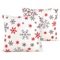 4Home Obliečka na vakúšik Snowflakes, 2 ks 40 x 40 cm
