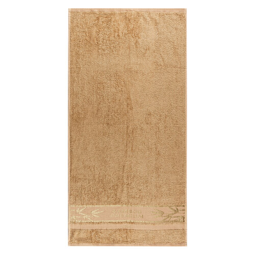 Set 2 prosoape 4Home Bamboo Premium bej, 50 x 100 cm
