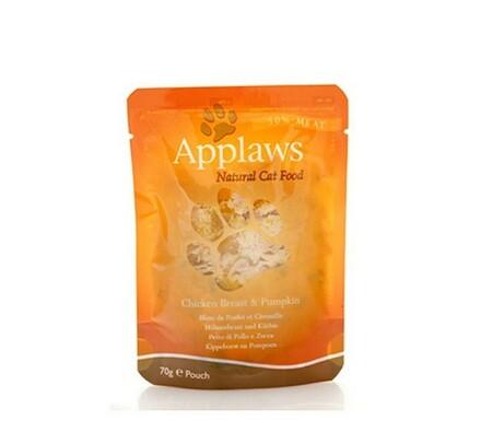 Applaws kapsička pro kočky 70g - kuřecí prsa a dýn