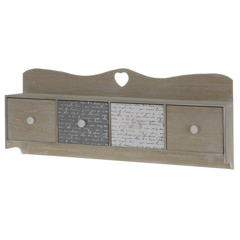 Koopman Dřevěná závěsná skříňka se šuplíky 79c2ca18c9