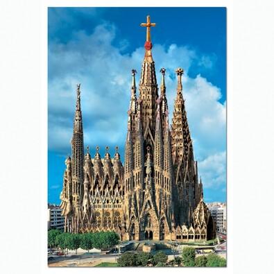 Puzzle EDUCA 1000 dílků - Sagrada Família r.2025, , vícebarevná