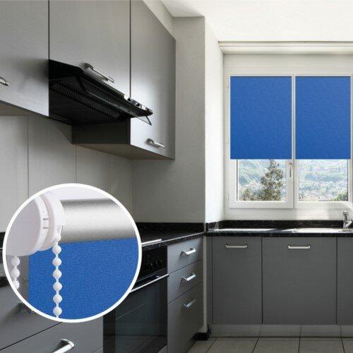 Roletă Thermo albastră, 81 x 150 cm