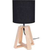 Koopman Stolní lampa Idaho, černá
