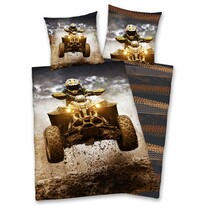 Lenjerie bumbac ATV, 140 x 200 cm, 70 x 90 cm