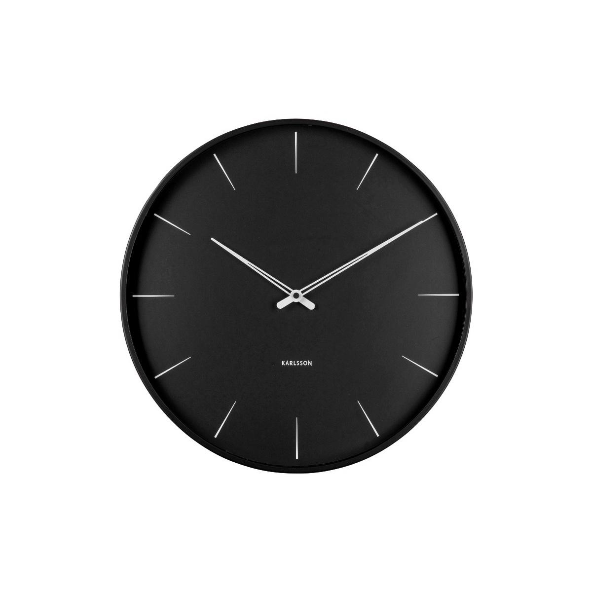 Karlsson Designové nástěnné hodiny KA5834BK
