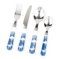 Koopman 16-częściowy zestaw sztućców indigo, niebieski