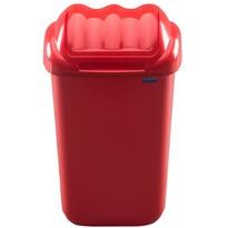 Aldotrade Kosz na śmieci FALA 30 l, czerwony