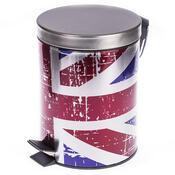 Odpadkový koš s vlajkou Velké Británie