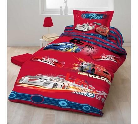 Dětské bavlněné povlečení Cars 2012, 140 x 200 cm, 70 x 90 cm
