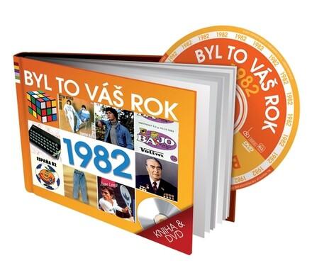 Byl to váš rok 1982, DVD a kniha, vícebarevná