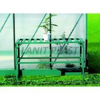 LanitPlast LanitGarden AL regál jednopolicový zelený