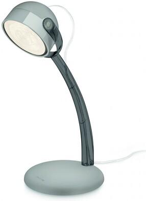 Philips stolní lampa Dyna šedá