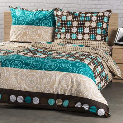 Circles pamut ágynemű, 200 x 200 cm, 2 db 70 x 90 cm