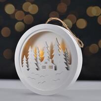 Solight Obrazek dekoracyjny LED Winter dream