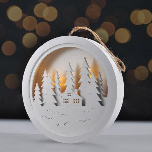 Solight Dekoratívny LED obrázok Winter dream