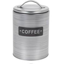 Koopman Plechová dóza na kávu, strieborná