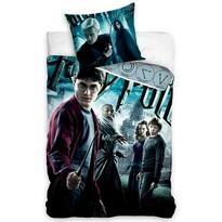 Lenjerie de pat din bumbac Harry Pottermulticoloră, 140 x 200 cm, 70 x 90 cm