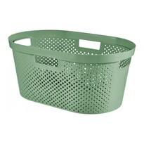 Curver Koš na čisté prádlo INFINITY 39 l, zelená