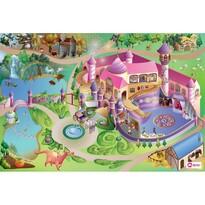 Domarex Dětský kobereček Little Hippo Princezny, 75 x 112 cm