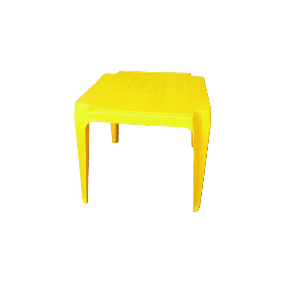 Dětský stůl, žlutá