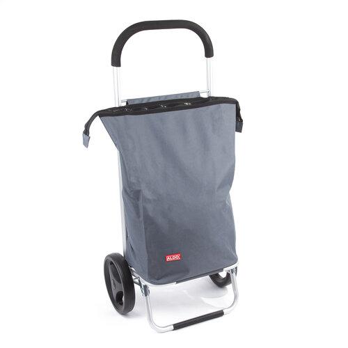 Nákupná taška na kolieskach Nice, sivá
