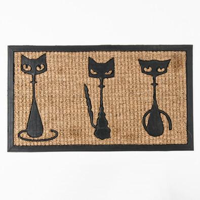 Rohožka Kočky, 40 x 70 cm
