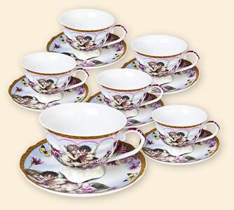 Porcelánová čajová souprava