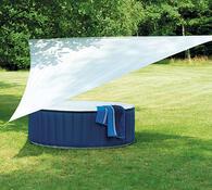 Ochranná plachta na zahradu