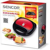 Sencor SSM 9404RD sendvičovač