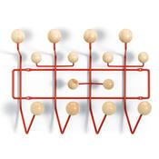 Věšák Eames Hang it all 50 cm, červený