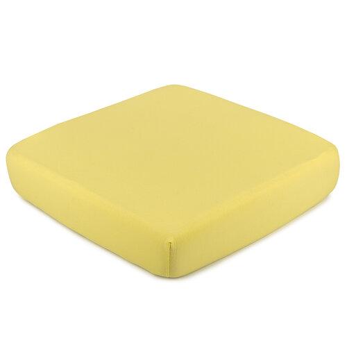 4Home Jersey prestieradlo s elastanom žltá, 90 x 200 cm