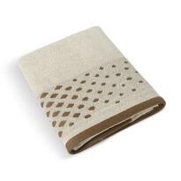 Ręcznik kąpielowy Mozaika beżowy, 70 x 140 cm