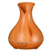 Difuzor arome Sixtol Vulcan, lemn deschis, 350 ml