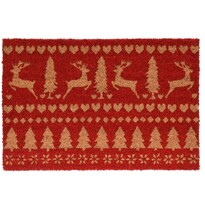 Deer lábtörlő piros, 39 x 59 cm