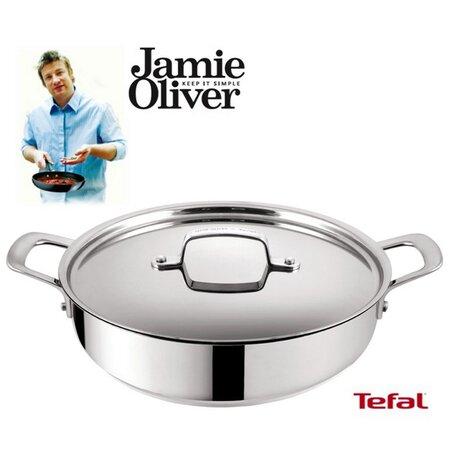 Panvica s pokrievkou Jamie Oliver, 30 cm, Tefal