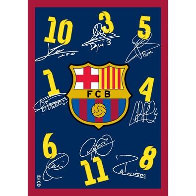 Kusový koberec FC Barcelona, 95 x 133 cm