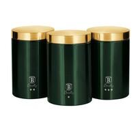 Berlinger Haus 3-częściowy zestaw pojemników na żywność Emerald Collection