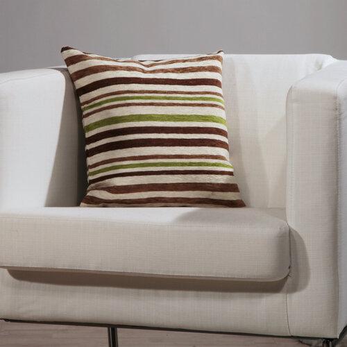 Poszewka na poduszkę - jasiek Oslo, brązowy,40 x 40 cm