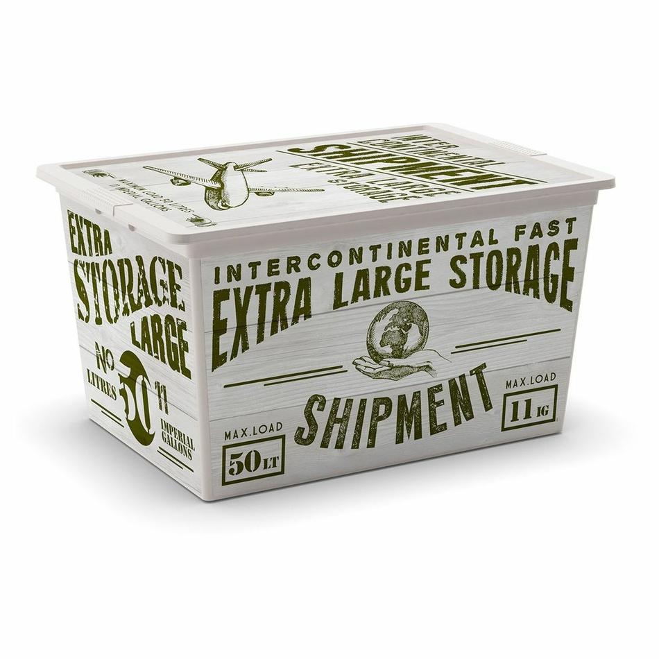 Úložný box KIS C Box Wood XL 50 L