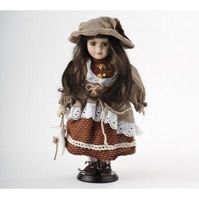 Panenka Terezka s porcelánovou hlavičkou, 32 cm